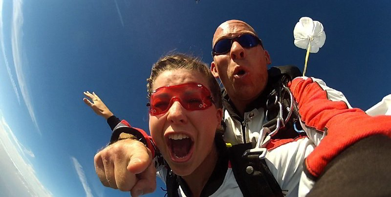 Fallschirm Tandemsprung Raum Hohenems Am Bodensee